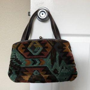 Vintage Navajo embellished purse